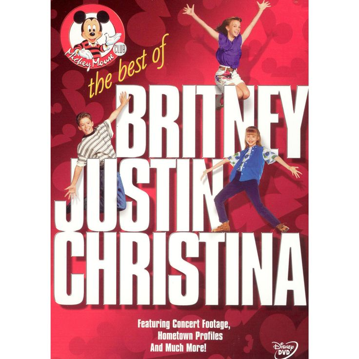 Mickey Mouse Club: The Best of Britney, Justin & Christina (dvd_video)