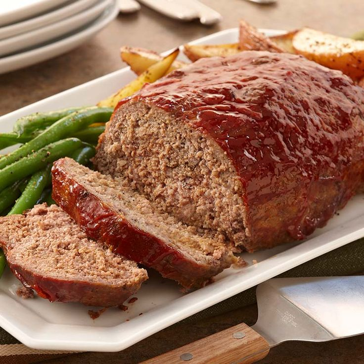 This is the meat loaf you remember your mom making. Don't forget that leftovers taste great the next day in a sandwich.
