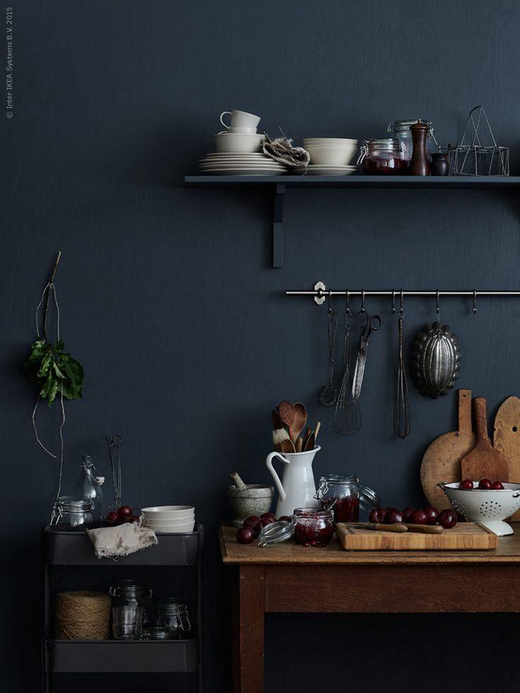 Ikea Autumn blue | via Ollie & Sebs Haus