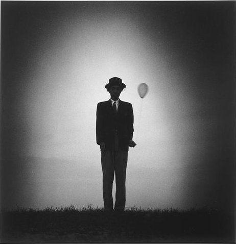Shōji UEDA :: Self Portrait with Balloon, 1948