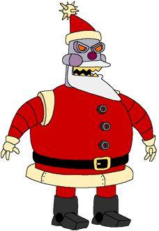 Robot Santa Claus - Futurama Wiki, the Futurama database