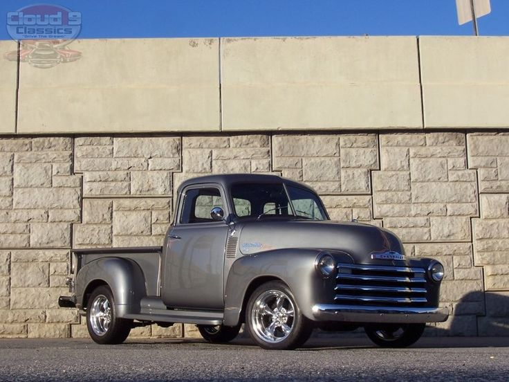 1951 Chevrolet 3100 5 Window Pick Up...daddy had one just like this <3