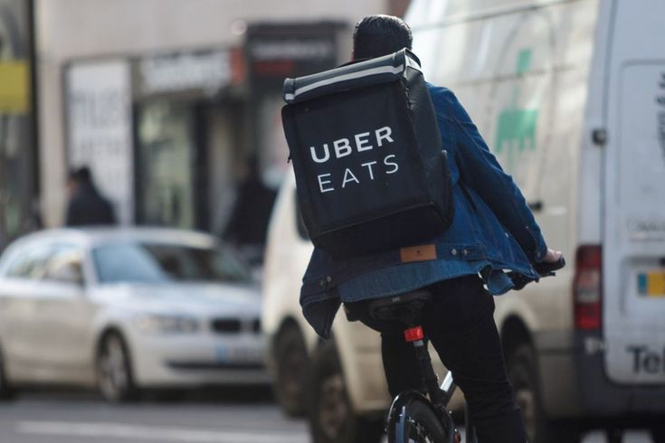 Is your ubereats driver eating your food man of many