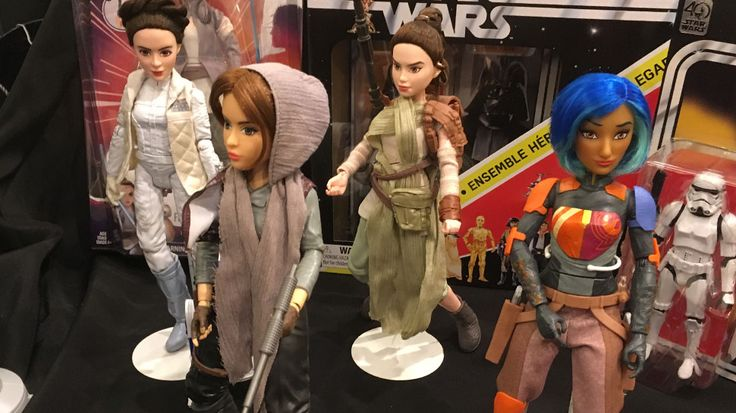 """Touring the toys of Hasbro's May the 4th Be With You event, Nerdist saw plenty of cool goodies forStar Wars fans--those young and not so young alike. The most excitingmight be the groundbreakingline ofStar Wars: Forces of Destinytoys, which you can check out in the gallery below. But don't you dare call them """"dolls."""" Hasbro's Senior Principal DesignerMark Boudreauxand Senior Manager Global Brand Marketing PartnerAndy Ochiltreeprefer these toy versions of Princes..."""