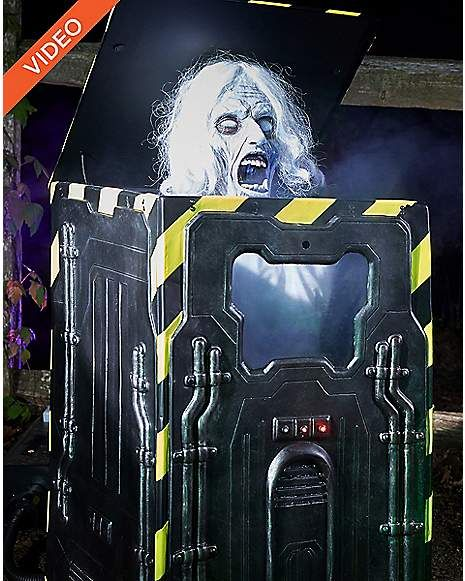 25 Ft Cryo Chamber Corpse Animatronics \u2013 Decorations Horror Props