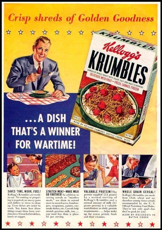 Kellogg Krumbles Cereal