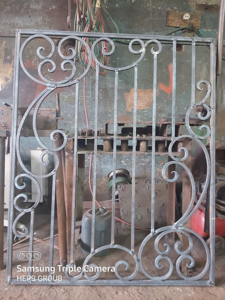 حديد كريتال شباك In 2020 Wrought Iron Doors Iron Doors Wrought Iron
