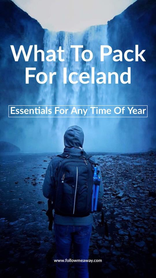 The Ultimate Iceland Packing List   What To Pack For A Trip To Iceland   Top Things To Bring To Iceland   What Clothes To Wear In Iceland   Best Iceland Packing Guide   Iceland Travel Tips   Tips for planning a trip to iceland