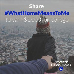 Looking for an easy, very short essay college scholarship? Check out the American Classic Homes $1000 scholarship with winning tips by Monica Matthews.