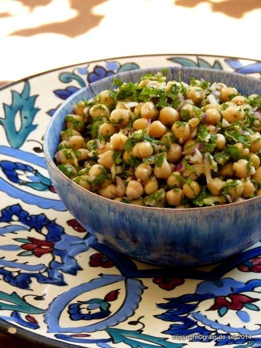 marokkanischer Kichererbsensalat
