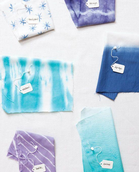dip dye, tie dye, ombre en andere verftechnieken op een rij <3 by MIEKinvorm.nl