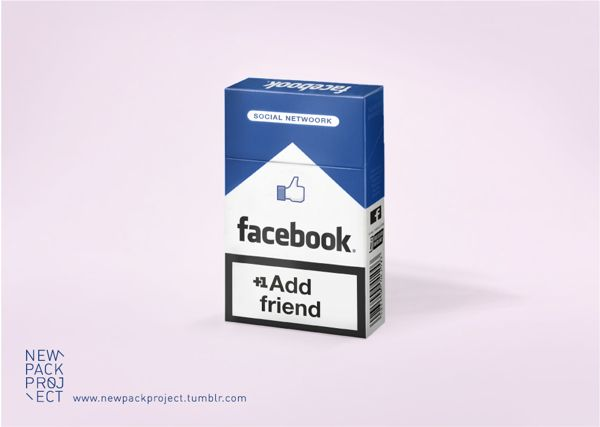 NEW PACK PROJECT #FaceBook although I wouldn't choose cigarette #packaging PD