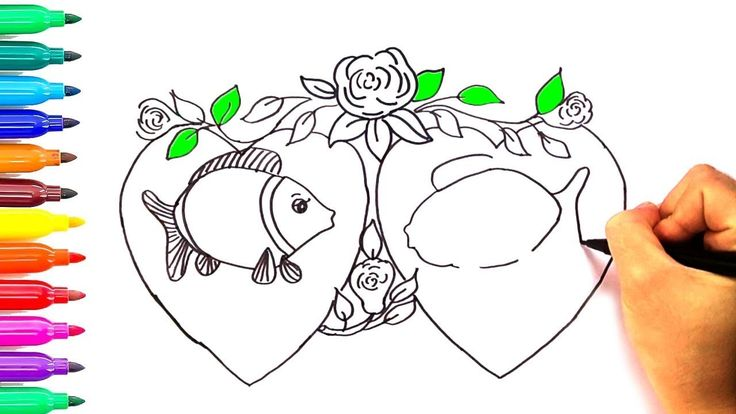 hello kitty coloring heart art kids learning princess children drawing youtube painting kids - Children Drawing Pictures For Painting