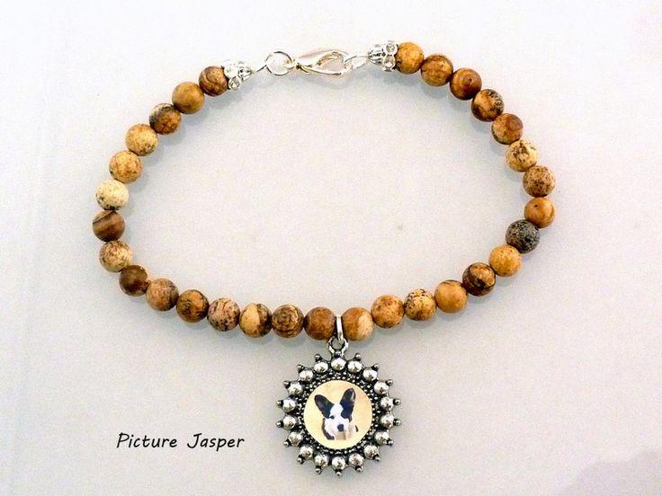 Beautiful photo keepsake gemstone bracelets.  Many gemstone types to choose from.  Only $25!  www.simplyitalydesigns.com