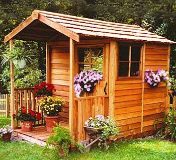 Sheds   The Gardeners Delight Cedar Shed