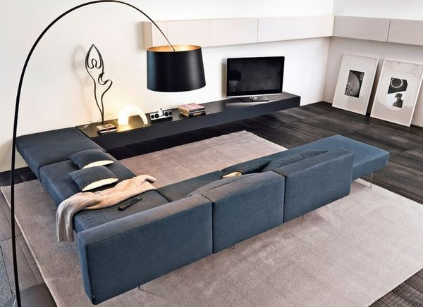 43 best divani images on pinterest | living room ideas, living ... - Pouf Tessuto Grigio Aliseo