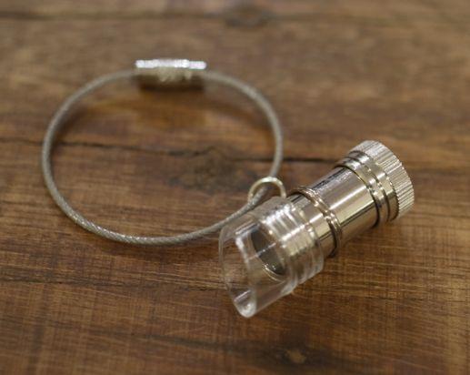 画像: 【メール便 OK】 顕微鏡キーホルダー