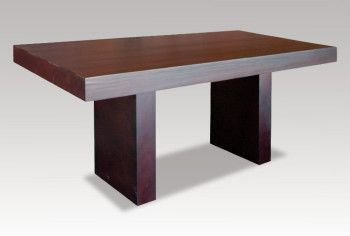 A modern take on the classic pine table