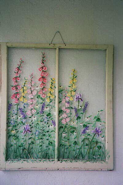 Window Wall Art best 20+ old windows painted ideas on pinterest | window art
