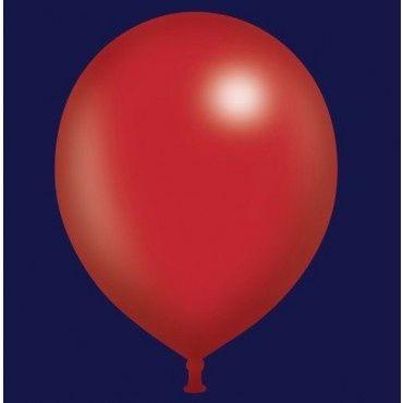 Forma figuras con globos R-12 ó R-9 de color rojo. #DecoracionFiestas #FiestasTematicas