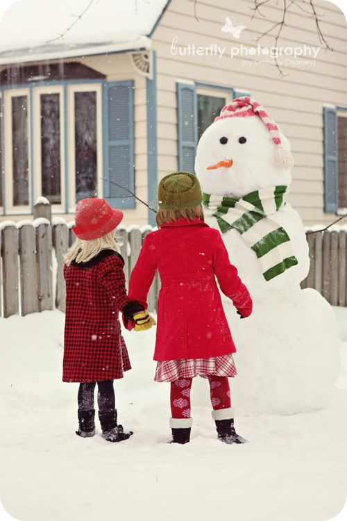 Who doesn't love a snowman?