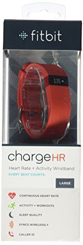 Fitbit Charge HR Wireless Activity Wristband, Tangerine, Large  http://www.discountbazaaronline.com/2016/03/13/fitbit-charge-hr-wireless-activity-wristband-tangerine-large/