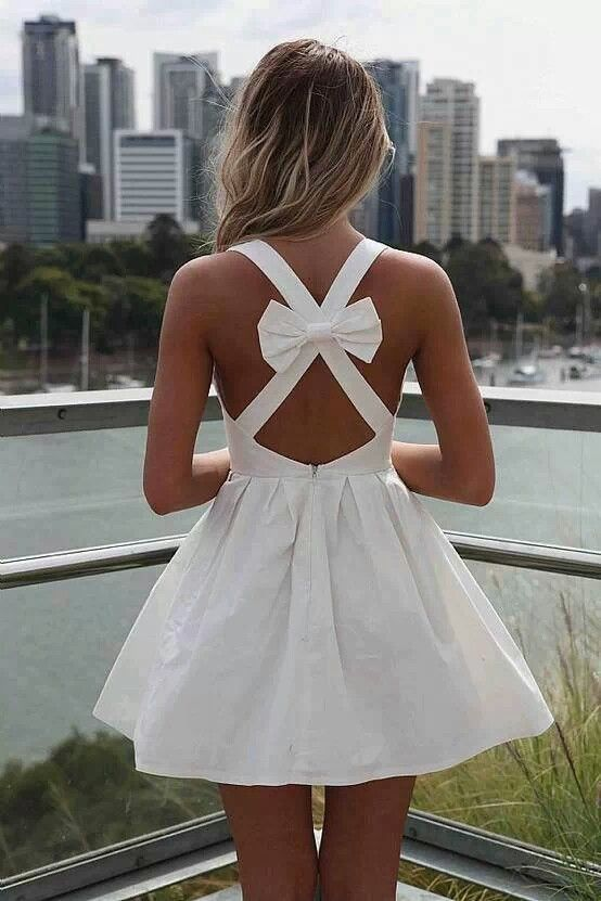 Nice little white drees...