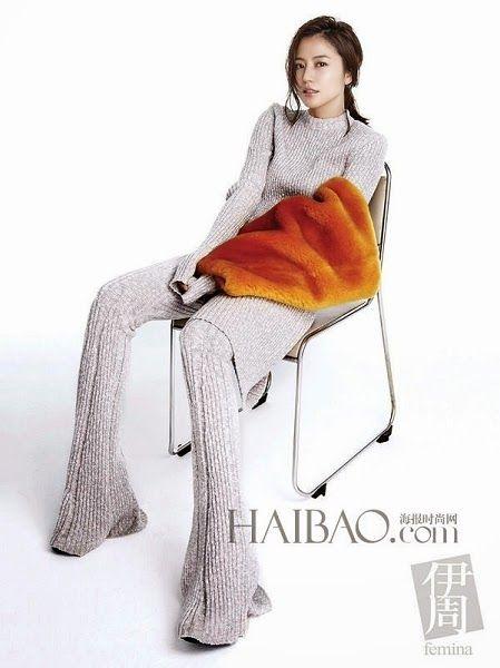 伊周 Femina China November 2014, Masami Nagasawa 長澤雅美