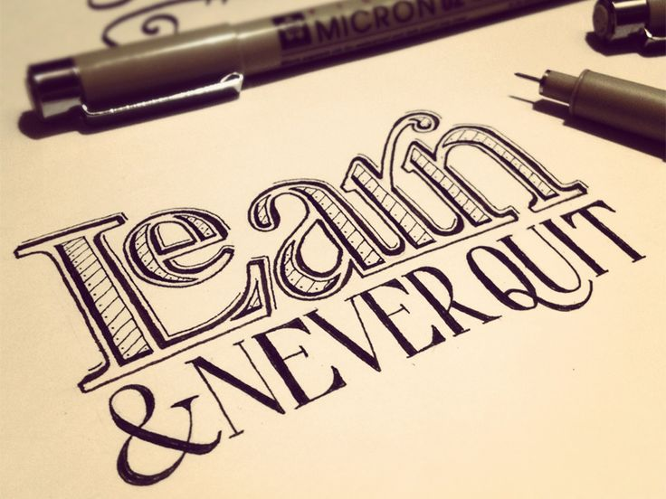 Tons of examples! Hand lettering heaven!