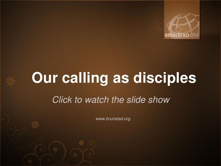 Called to freedom from sin (by Brunstad Christian Church)