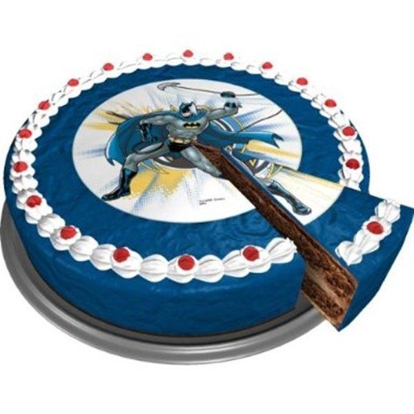 Opłatek na tort urodzinowy z wizerunkiem Batmana
