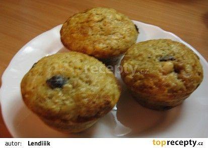 Rozinkový muffins s ovesnými vločkami recept - TopRecepty.cz