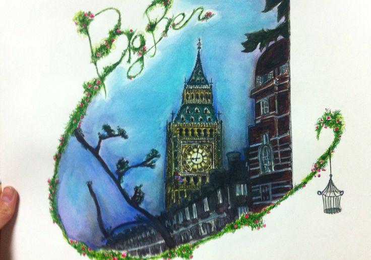 London - Big Ben (by joyce)