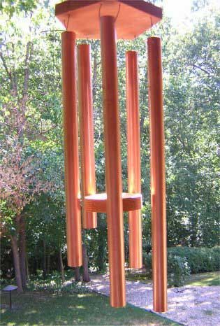 Copper wind chime instructions