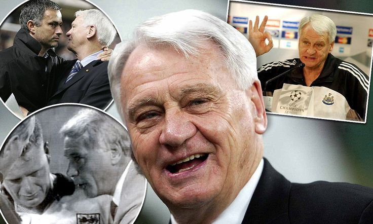 Sir Bobby Robson, the grandfather of the game, will never be forgotten
