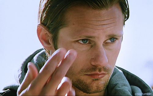 Alexander Skarsgård making all of the world's ovaries explode. | 18 Swedish Men Who Are So Breathtaking You Actually Won't Be Able To Breathe