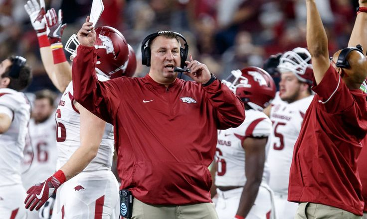 Hog heaven: Arkansas, Bielema search for defining win = Bret Bielema took over Arkansas when it was in a deep hole.  The Bobby Petrino era ended in ignominy in the middle of the offseason, and the interim year under John L. Smith exploded in the hangar with a Week 2 loss to.....