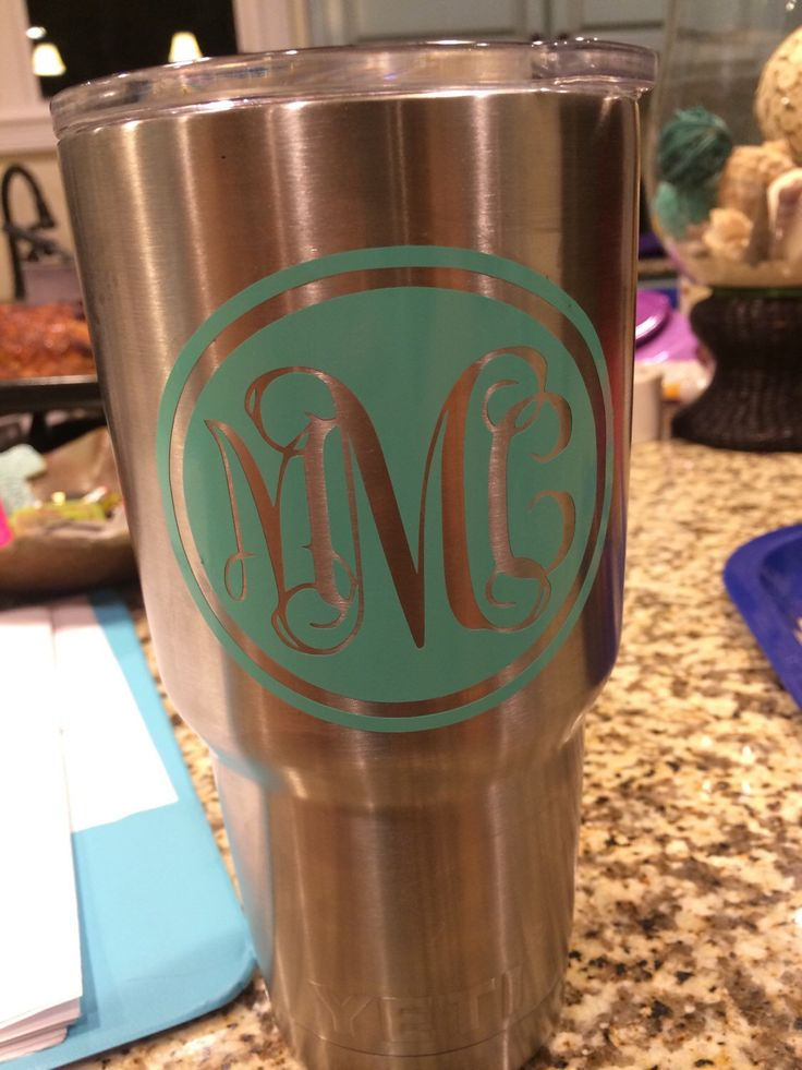 Yeti cup sticker by sticitstickers on etsy https www etsy com