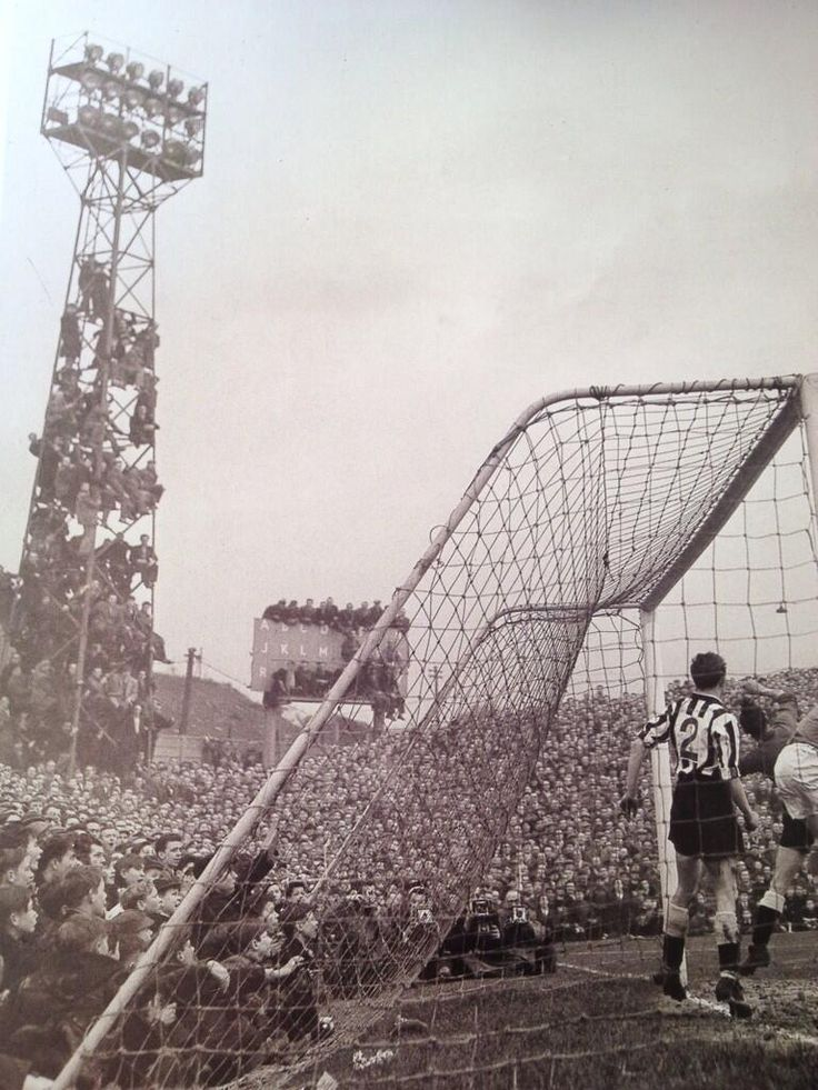 Millwall v Newcastle at The Den.