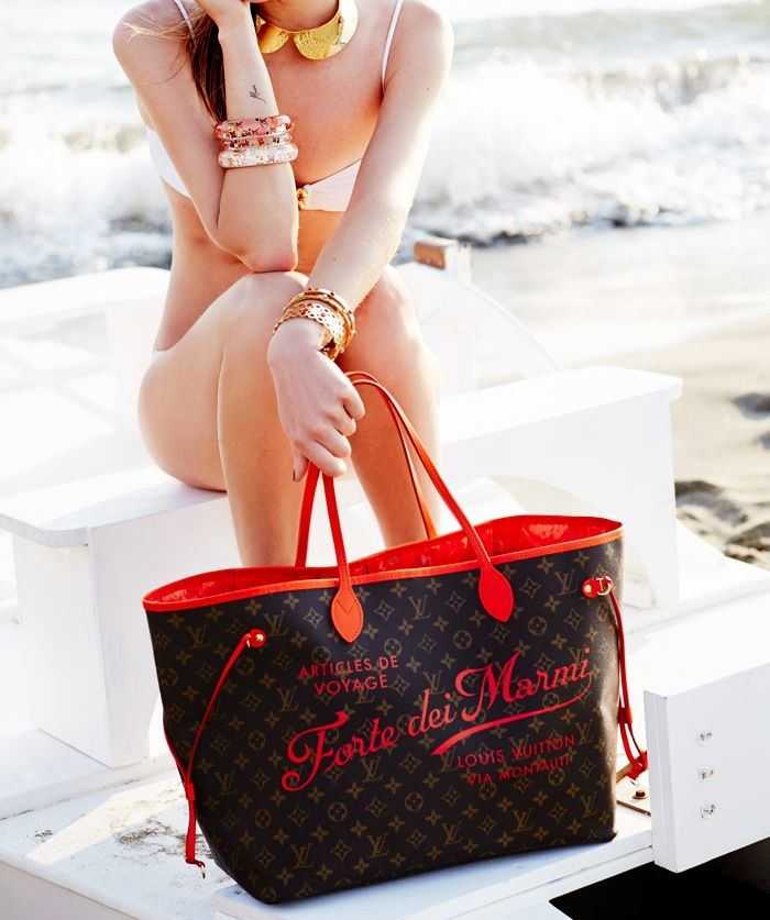 Neverfull bag Forte dei Marmi by Louis Vuitton