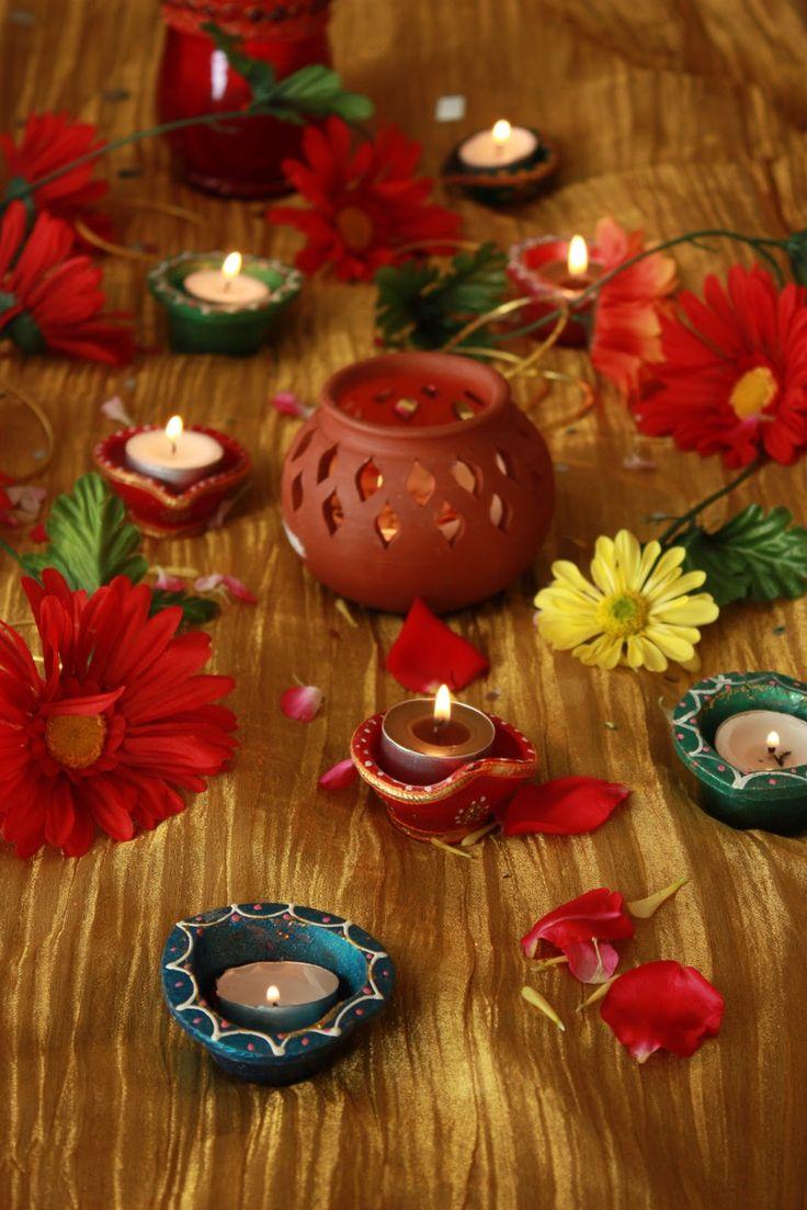 55 best ideas for decorating diyas images on pinterest diwali sreelus tasty travels diwali decoration inspirations day i mix candles and fresh flowers