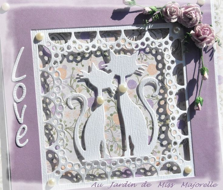 Challenge carterie n°15 chez Marianne Design Divas: Anything goes - option diamonds or pearls.
