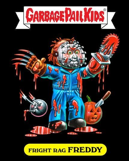 Fright-Rags creates new Garbage Pail Kids character for limited edition shirts
