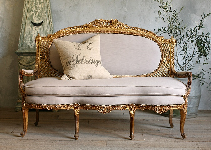 Vintage Rococo Style Louis XV Settee - 186 Best Berjer Ve Sandalye Images On Pinterest Armchairs, Chair