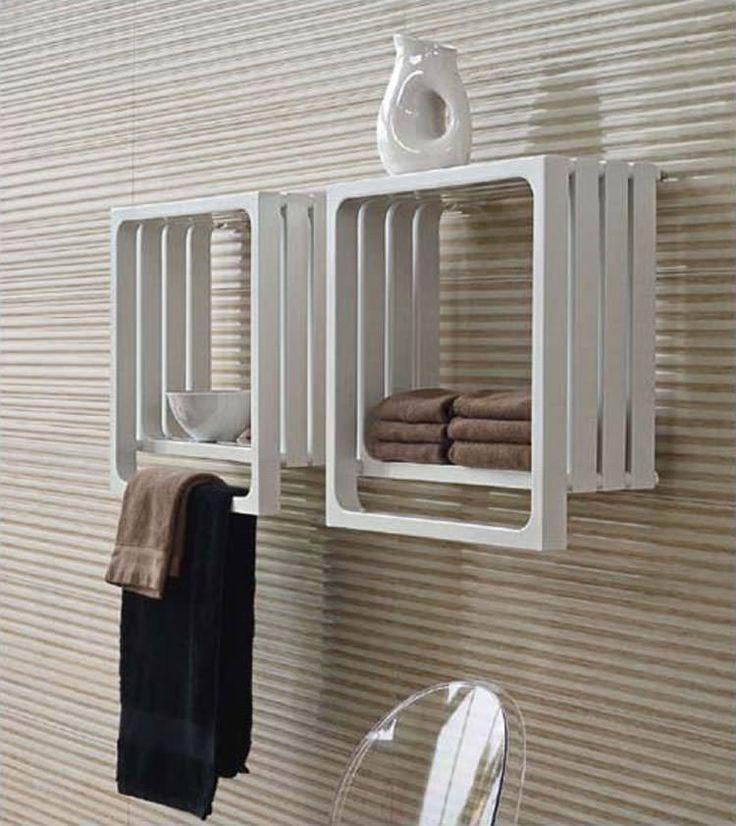 Termoarredo bagno dal design moderno n.02