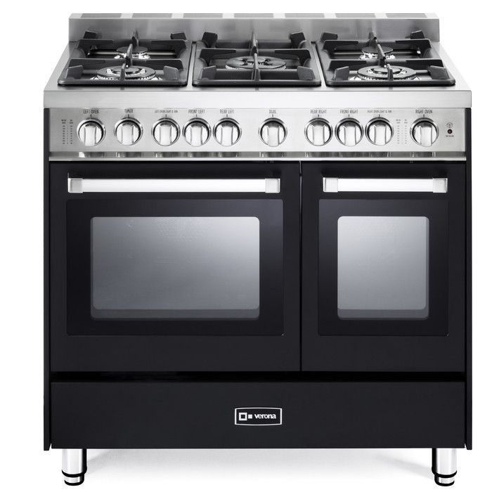 "You'll love the 36"" - Gas Double Oven Range - 2 Convection Ovens, Stainless Steel at Wayfair - Great Deals on all Home Improvement  products with Free Shipping on most stuff, even the big stuff."