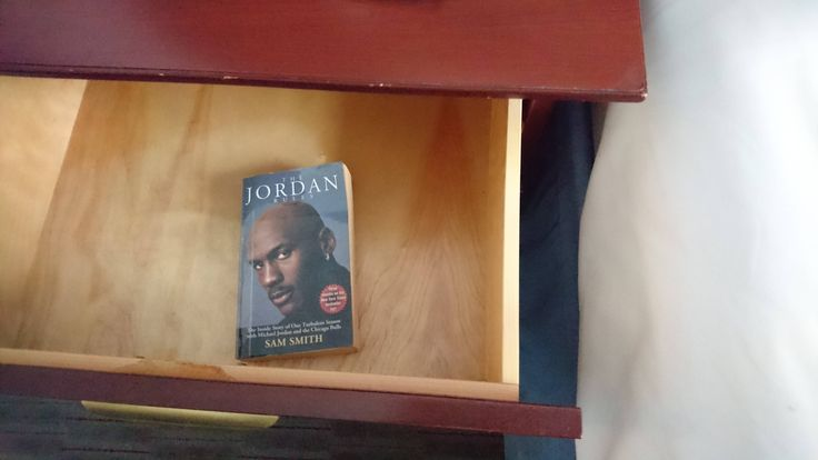 My hotel in Chicago has a Michael Jordan biography instead of a bible http://ift.tt/2xJiHB4