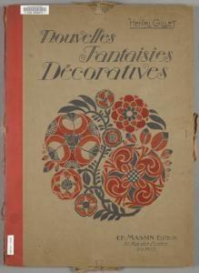 nypl - book cover, Creator Henri Gillet,   Source : Nouvelles fantasies décoratives.  Source Description : 20 col. plates. ; 46 cm. In portfolio.