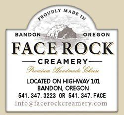 Face Rock Creamery Home of Premium Handmade Cheese in Bandon, Oregon - Supposedly has the best ice cream and cheese tastings