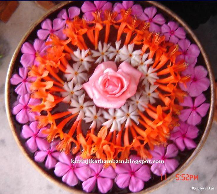 Image result for flower kolam wedding